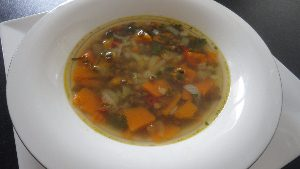 linzen-pompoensoep
